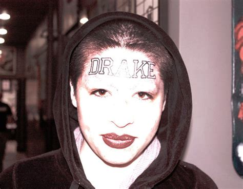 girl with drake tattoo on forehead shannon larratt is zentastic blog archives