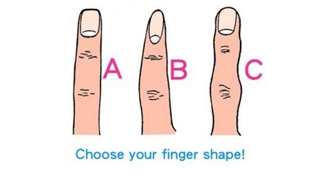 what am i 40 personality quizzes from quizony com how your finger shape determines your personality