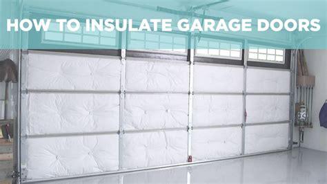 How To Insulate A Garage Repair Garage Door Before The Winter