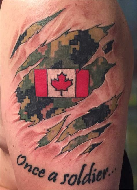 canadian tattoos canadian tattoos rcaf caf cadpat