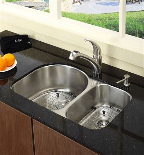 15 Functional Double Basin Kitchen Sink   Home Design Lover