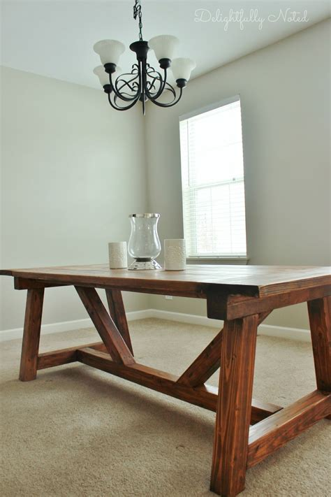 farm table dining room holy cannoli we built a farmhouse dining room table