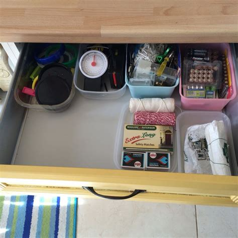 kondo organizing marie kondo style quot messy drawer quot in our kitchen konmari