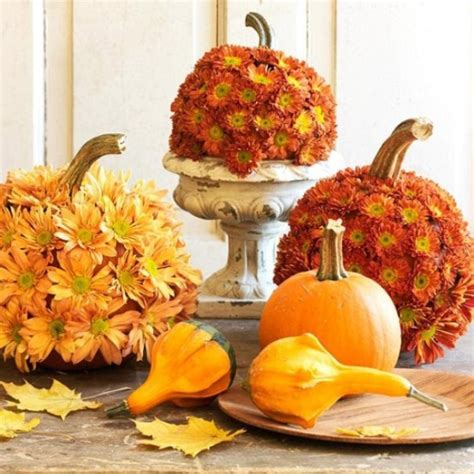 pumpkin bouquet centerpieces 65 awesome pumpkin centerpieces for fall and table digsdigs