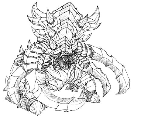 starcraft 2 zerg ultralisk by kerberos of hades on deviantart