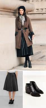 Design Basics Inc 18 Ways To Pair Boots With Skirts Brit Co