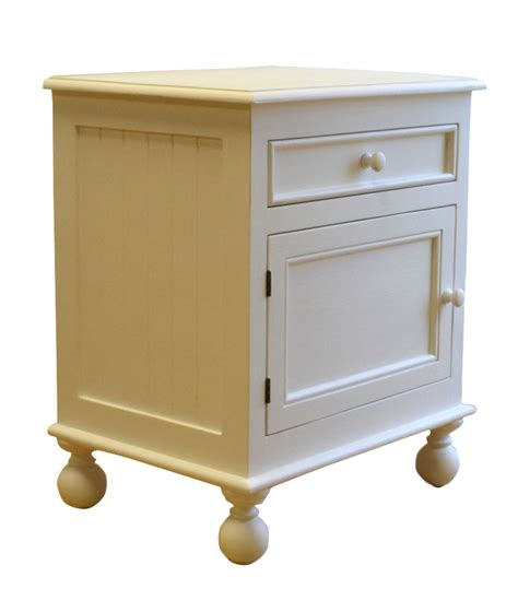Farmhouse Bedside Table by Farmhouse Bedside Table In Two Sizes For Sale Cottage