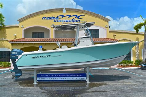 used sea hunt boats for sale used 2008 sea hunt triton 240 center console boat for sale