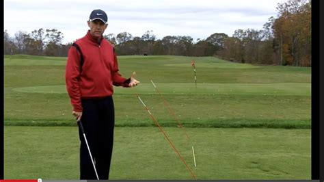 golf swing on plane pin one plane swing down the line 5 iron and driver on