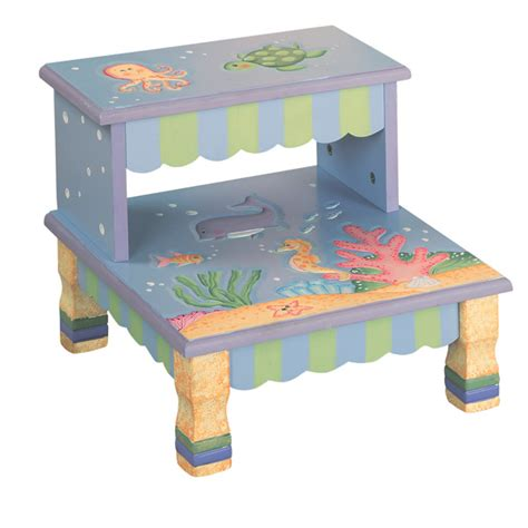 wooden step stool the sea potty concepts