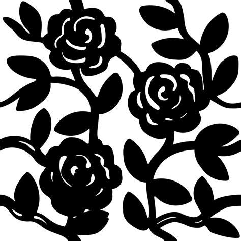 svg rose pattern clipart rose pattern