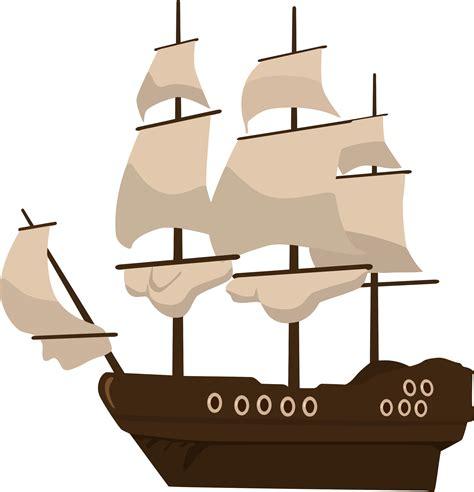 boat cartoon pirate clipart pirate ship