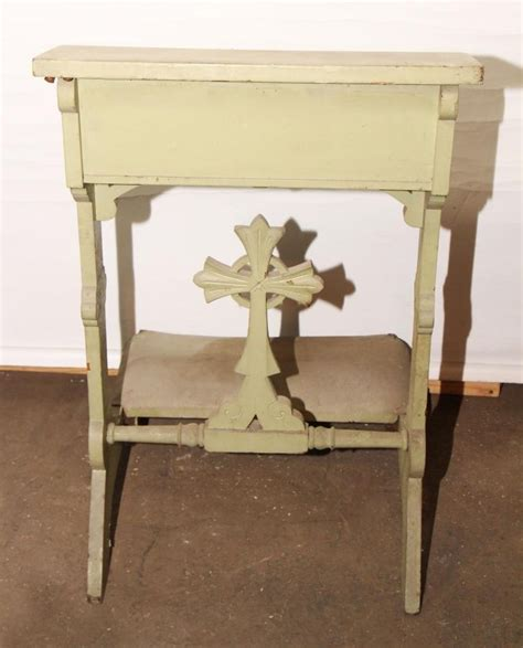 prayer bench for home prayer kneeler w carved cross crosses pinterest