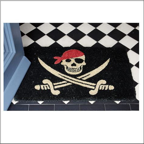 Skull And Crossbones Doormat by Pirate Doormat Skull Copy 1024x1024