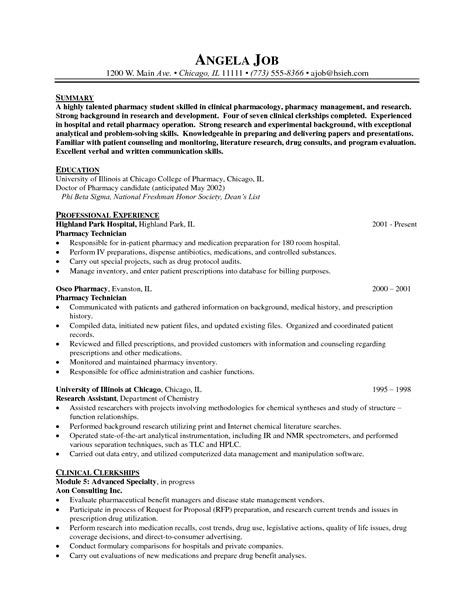 how to write nice pharmacist resume sample free career resume template