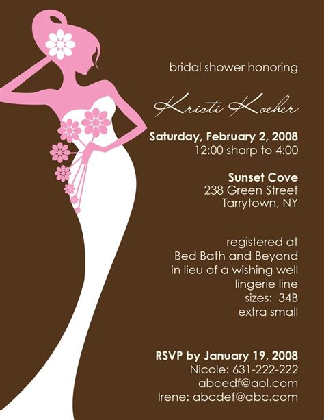 bridal shower and bachelorette same day invitations wording 16 best bridal shower invitations images on