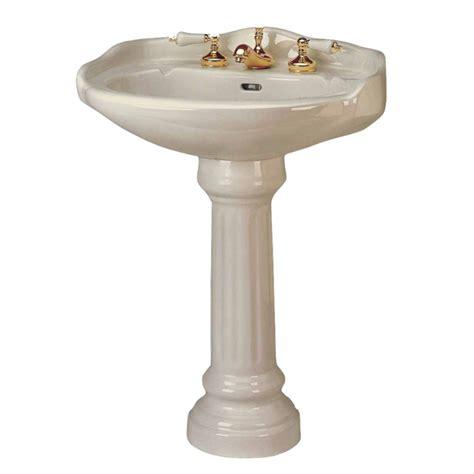 Bone Pedestal Sink pedestal sinks bone china pedestal sink 8 quot quot widespread 97731 transitional bathroom