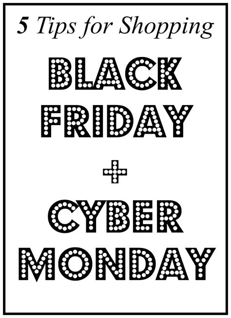 5 Black Things You Need For A Fab December by 5 Tips For Shopping Black Friday Cyber Monday Popular