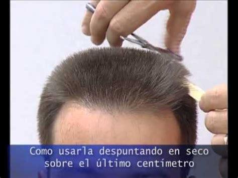 corte de pelo con tijera para caballero corte pelo masculino con tijera de entresacar youtube