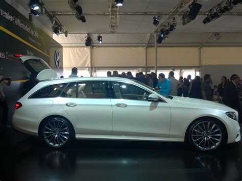 our class s t e m class 2 0 live report new mercedes e class t modell first pics and