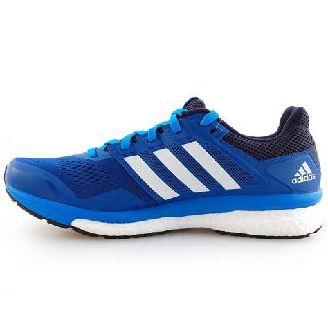 tony pryce sports adidas mens supernova glide  running shoes blue intersport