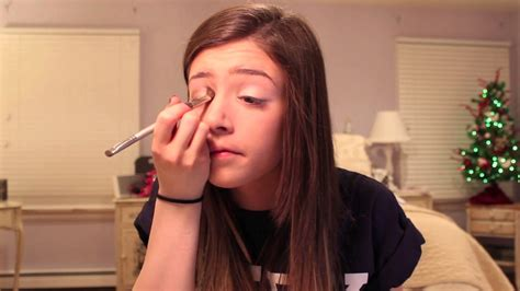 chrissy costanza hair tutorial first make up tutorial youtube