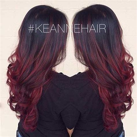 cheveux prune couleur pictures to pin on pinterest 20 rouge couleur des cheveux colo pinterest
