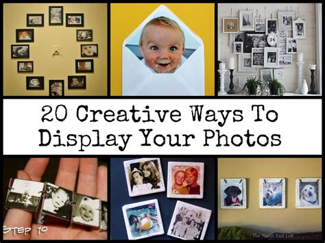 ways to display pictures cool ways to display your photos