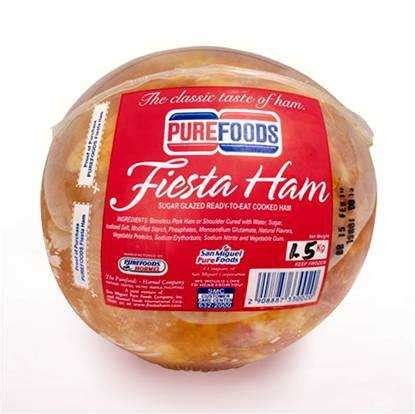 Smoked Ham Shelf by Purefoods Ham Great Food Solutions