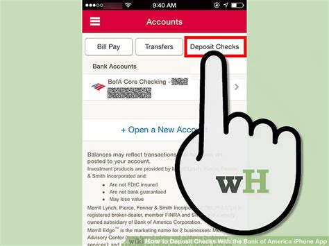 How To Find In Usa How To Deposit Checks With The Bank Of America Iphone App