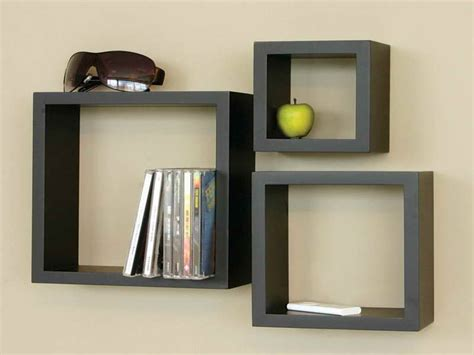 bloombety wall shelving ideas  black box wall