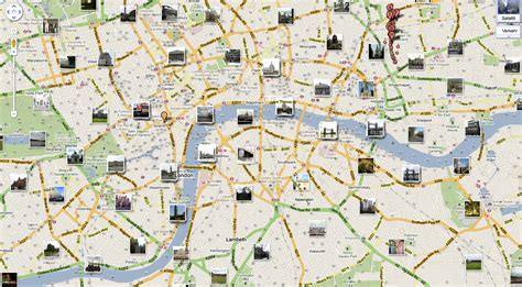 map for tourists interactive map of with an overview of attractions