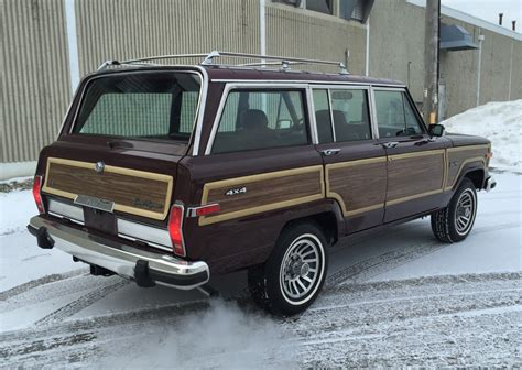 1989 jeep wagoneer 1989 jeep grand wagoneer rear