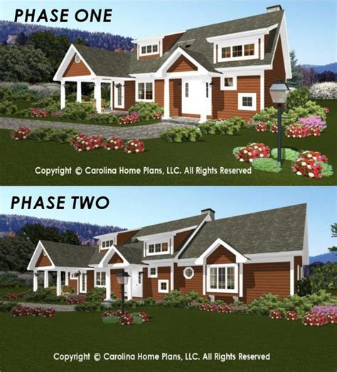 flexible house plans flexible house plans from carolina home plans build in stages pinterest d