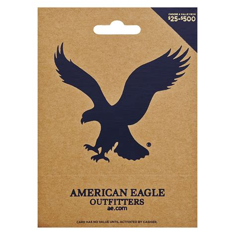 Gift Card Balance American Eagle - american eagle non denominational gift card walgreens