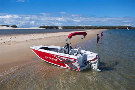 quintrex boat prices qld new quintrex 530 frontier power boats boats online for