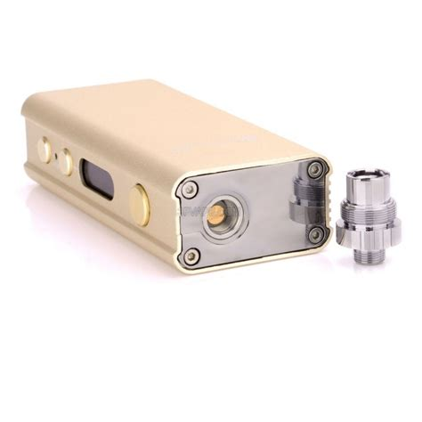 Mod 45w authentic smoktech xpro m45 45w 2200mah vw apv box mod golden aluminum alloy 6 0 45w m36