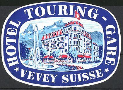 Kofferaufkleber Flaggen by Kofferaufkleber Vevey Hotel Touring Gare Hotelgeb 228 Ude