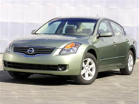 nissan hybrid sedan 2008 nissan altima hybrid sedan 4d pictures and