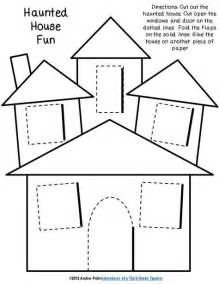 7 best images of haunted house pattern printable haunted