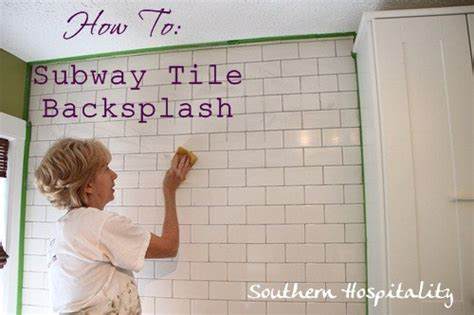 how to install subway tile kitchen backsplash how to install subway tile backsplash