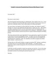 charity sponsorship request letter reference request letter