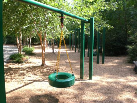 the house raleigh swing kids together park cary nc and subdivisions around it