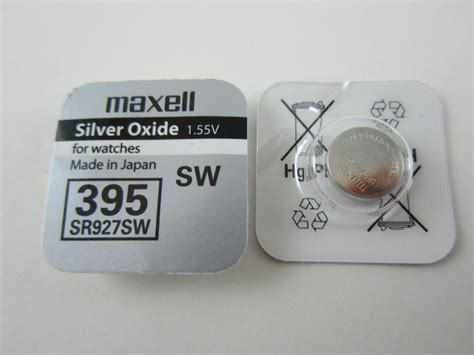 Dijamin Button Cell 395 Sr927sw maxell 4x sr927sw 395 1 55v silver oxide button cell batteries msgamesnnsupplies