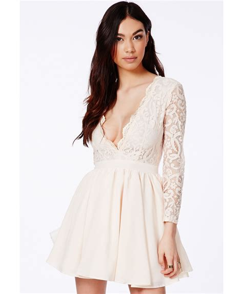 Saralee Blouse dayana lace sleeve puff dress dresses skater