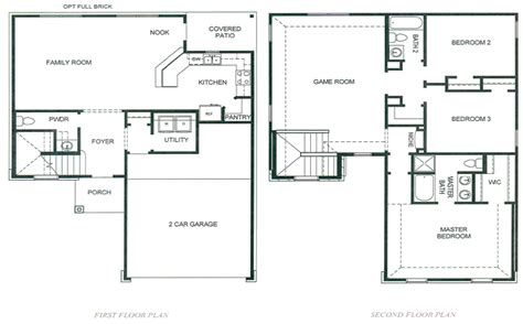 homes floor plans with pictures express homes san antonio affordable homes