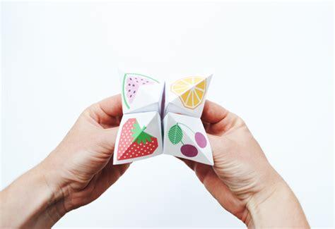 Origami Chatterbox - creative teacherette fortune teller