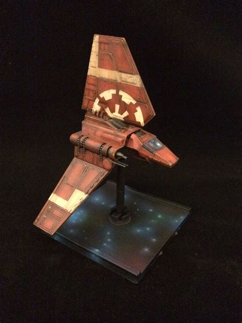 The Remnant Fleet repainting wars x wing miniatures pt 2 the imperial