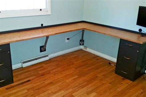 How To Build An L Shaped Desk 17 Diy Corner Desk Ideas To Build For Your Office Simplified Building
