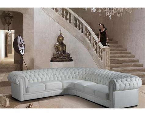 transitional sectional sofa transitional tufted leather sectional sofa 44l6011